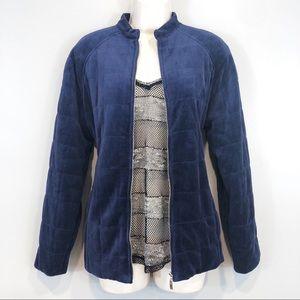 NWT Susan Graver Jacket Pants Set